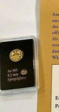 Mini Goldmünze Goldmark 2015