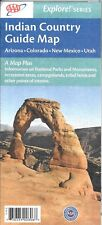 Indian Country Guide Map, Arizona, Colorado, New Mexico, & Utah, by AAA, 2010