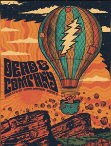 2021 Dead and Company Red Rocks Poster