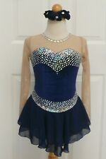 Kim Competition Ice Skating Dress Child Size 10