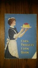 Vintage Cookbook Booklet Corn Products Cook Book Karo Corn Products Refining Old