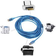 1.5M USB 2.0 A à B Mâle M/M Transfert données Câble d'imprimante Balayeur cordon