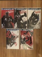 All Star Batman #1-5 Signed Autographed