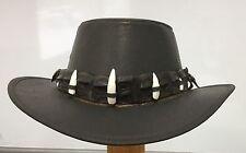 Jacaru Hat With Crocodile Band 5 Jumbo Teeth 56cm