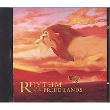 Il Re Leone - The lion King Rhythm of the pride lands - CD OST 1995 NEAR MINT