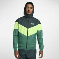 NIKE SPORTSWEAR WINDRUNNER JACKET DEEP JUNGLE AJ1396-328 MEN'S SIZE LARGE