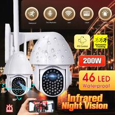 1080P WIFI Caméra de Surveillance Vision Nuit Sécurité Extérieur WLAN CCTV