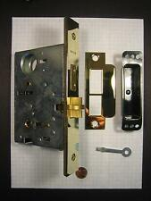 "BALDWIN  #6055.003.RLS MORTISE LOCK, PRIVACY FUNCTION,POLISHED BRASS,2-3/4"" B.S."
