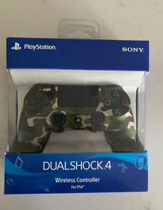 Sony DualShock 4 Wireless Controller for PlayStation 4- Green Camouflage - NEW