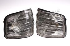 Corner Lights PAIR Smoke Gray PAIR Fits MERCEDES W126 C126 Coupe 1981-1991