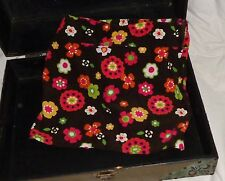 Gymboree Fall for Autumn Brown Orange Pink Flower Skirt Size 7