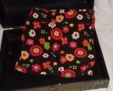 Gymboree Fall for Autumn Brown Orange Pink Flower Skirt Size 7
