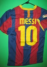 Barcelona Lionel Messi nike jersey 2010
