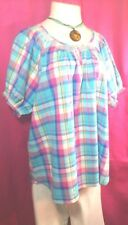 COMPANY ONE ~ BEAUTIFUL COTTON SCOOP NECK FASHION TOP ~ 3XL NWT$38 + FREE GIFT