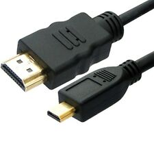 2M Micro HDMI a HDMI Cable Lead 1080p para Amazon Kindle Fire HD LCD TV Out UK