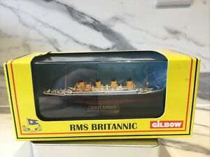 Gilbow 1:1750 Model White Star Line RMS Britannic Ship - Not Titanic nor Olympic