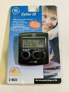 GE Caller ID 2-9016S Name Identification Phone Display New In Package