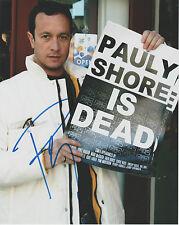 "PAULY SHORE Signed 8 x 10 ""PAULY SHORE IS DEAD"" Photo Autograph w/ COA Nice AUTO"