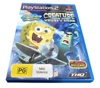 Spongebob SquarePants: Creature From The Krusty Krab PS2 PAL *Complete*