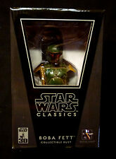 Star Wars Gentle Giant Wave 1 Boba Fett Classics Bust Statue New