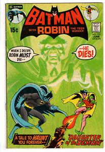 BATMAN #232 (1940 SERIES) - GRADE 5.0 - 1ST APPEARANCE RA'S AL GHUL!