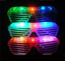120 PCS LED Shutter Glasses Light Up Shades Flashing Rave Wedding Party Supplies