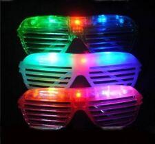 60 PCS LED Shutter Glasses Light Up Shades Flashing Rave Wedding Party Supplies