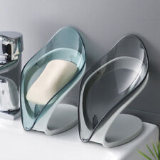 1Pcs Leaf-shaped Drainage Soap Holder Decorative Storage Container Soap Holder
