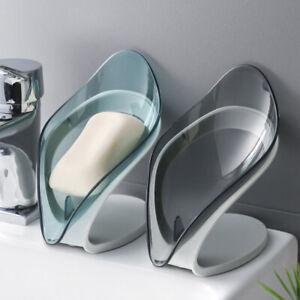 1Pcs Leaf-shaped Drainage Soap Holder Decorative Storage Container Soap Holder