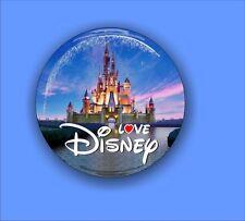 Love Disney - Large Button Badge - 58mm diam