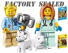 NEW LEGO 71018 Minifigures Series 17 Veterinarian 71013 Dog Show Winner packs
