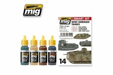 AMMO OF MIG A.MIG-7144 Acrylic Paint Set (4 jars) WWI German Tanks 17ml