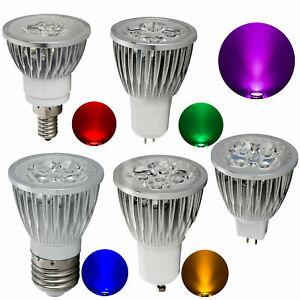 Multicolour Dimmable LED Spotlight Bulbs 9W 12W 15W GU10 220V MR16 12V Lamps