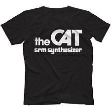 The Cat SRM Synthesiser T-Shirt 100% Cotton Retro Analog Arp Odyssey