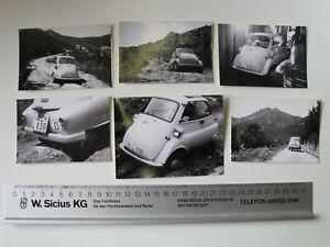 Konvolut 32 x original Foto BMW Isetta um 1960 Konvolut Urlaub Elba