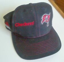 Tampa Bay Bucs Checkers Adidas ball cap hat