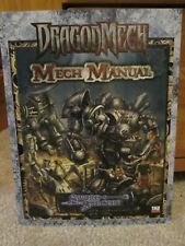 DRAGONMECH MECH MANUAL - SWORD & SORCERY RPG D20 SOURCEBOOK 2004 - WW17602