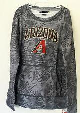 YOUTH KIDS UNDER ARMOUR Pullover-Sweater AZ Diamondbacks-GreyCamo-LRG-NWT-RV $55