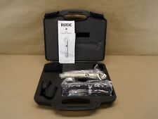 Rode NT4 Condenser Cable Professional Microphone New Open Box