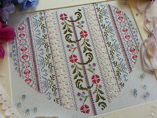 14 Count Cross Stitch Kit : Edwardian Heart : Beautiful Kits By Maggie Gee