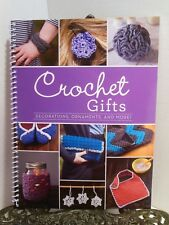 LN How To Crochet Stitches 16 Gifts Projects Ornament Bib Snowflakes Elephant