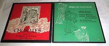 LOT OF 2 ALLEGRO LP RECORDS-JS BACH CHORALES+ PALESTRINA 2 LP SET- MISSA BREVIS