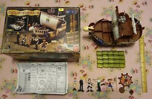 Gura Gura Going Merry Rare Collectable Japanese One Piece Toy Ship / Complete