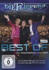 "DIE FLIPPERS ""BEST OF LIVE ABSCHIEDSTOURNEE..."" DVD NEU"
