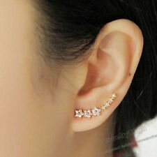 Gold Filled Crawler Climber Ear Cuff Stars Earrings Jewellery Online for Women