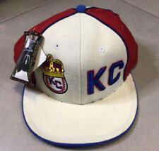 NWT Vintage Kansas City KC Monarchs Sz 7 1/2 Negro League Snapback Baseball Hat