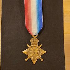 WWI British 1914-15 STAR British Army MEDAL , named, driver,  royal engineers.