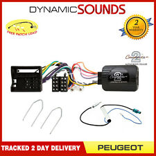 Peugeot 308 SW 08-13 Single Din Car Stereo Silver Fascia /& Fitting Kit
