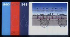 Singapore M/S Stamps First Day Cover FDC - 25th An. Public Utilities Board 1980