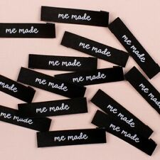 """ Me Made""  Sew In Woven Tags Clothing Labels pack of 8  by KATM"